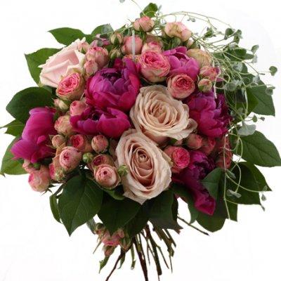 skicka blommor via nätet